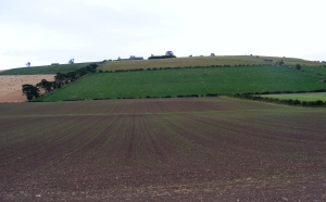 Flodden Field Today Courtesy of Jody Allen