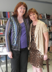 The amazing Nora Roberts (and me)