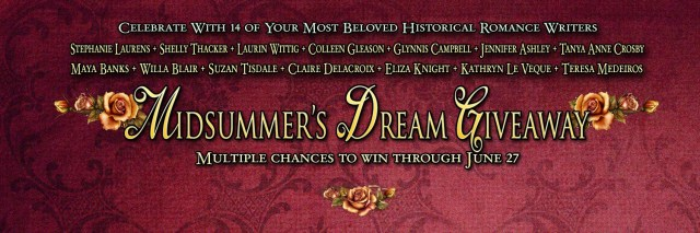 The MidSummer's Dream Giveaway Winners!